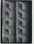 Yayoi Kusama, born 1928, silkscreen, signed byhand, num. 12/75, sheet size 47.5 x 64 cm, from
