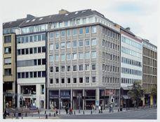 """Thomas Struth, born 1954, # """"Königsalle Düsseldorf #"""", signed and numbered 11/50, 40 x50 cm, frame"""