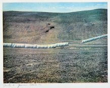 Christo, 1935 - 2009, heliogravure on BFK paper, signed by hand and num. 54/60, sign. byChristo