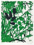Georg Baselitz, born 1938, color etching on laid paper, hand signed, num. 11/30, sheet size 76 x