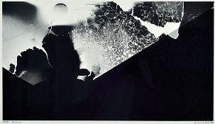 Jürgen Schmidt, born 1935 Kaiserslautern, 1970Palatinate Prize for Graphics, 1974 professorship