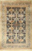Nain, Persien, ca. 50 Jahre, Wolle mit Seide, ca. 303 x 200 cm, EHZ: 2-3