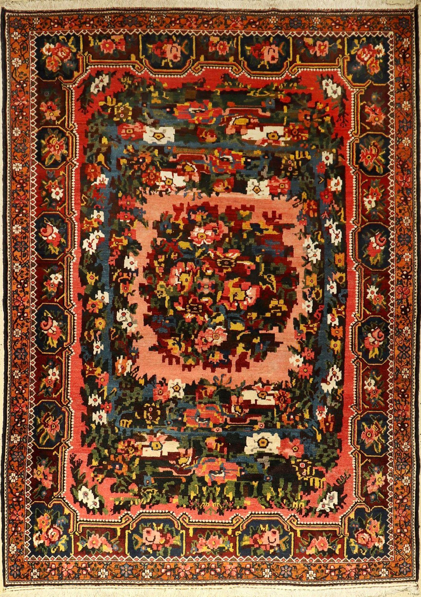 Bachtiar alt (Golfarang), Persien, um 1940,Wolle auf Baumwolle, ca. 310 x 212 cm, EHZ: 2,Guter Flor,