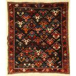 Meshkin alt, Persien, um 1940, Wolle auf Baumwolle, ca. 90 x 68 cm, Kaukasisches Design, EHZ: 2-3