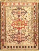 Azeri Sumakh, Azerbaijan, ca. 40 Jahre, Baumwolle, ca. 137 x 110 cm, EHZ: 2-3