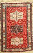 Azeri Sumakh, Azerbaijan, ca. 40 Jahre, Baumwolle, ca. 194 x 122 cm, EHZ: 2