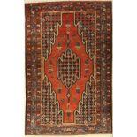 Mazlaghan, Persien, ca. 60 Jahre, Wolle aufBaumwolle, ca. 200 x 128 cm, EHZ: 4