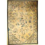 Früher Peking antik, China, 1.Hälfte 19.Jhd., Wolle auf Baumwolle, ca. 485 x 330 cm, selten, EHZ: