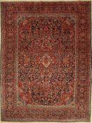 Keschan alt, Persien, ca. 60 Jahre, Wolle auf Baumwolle, ca. 353 x 267 cm, EHZ: 4Keschan old,
