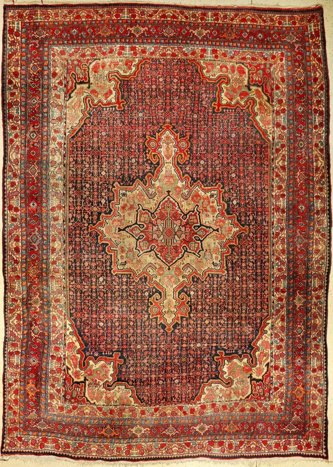 Bidjar antik, Persien, um 1920, Wolle auf Baumwolle, ca. 366 x 260 cm, EHZ: 3Bidjar antique, Persia,