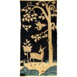 Pao Tao antik, China, um 1900, Wolle auf Baumwolle, ca. 132 x 65 cm, EHZ: 2-3Pao Tao antique, China,