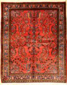 Lilain Us Re Import, Persien, um 1920, Wolle auf Baumwolle, ca. 200 x 162 cm, EHZ: 2-3Lilain Us Re