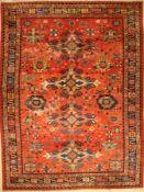 Tefzet alt, Deutschland, um 1930, Wolle aufBaumwolle, ca. 392 x 296 cm, EHZ: 4, Kaukasisches