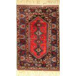 Dösemalti alt, Türkei, ca. 50 Jahre, Wolle auf Wolle, ca. 191 x 130 cm, EHZ: 2, (fachkundig