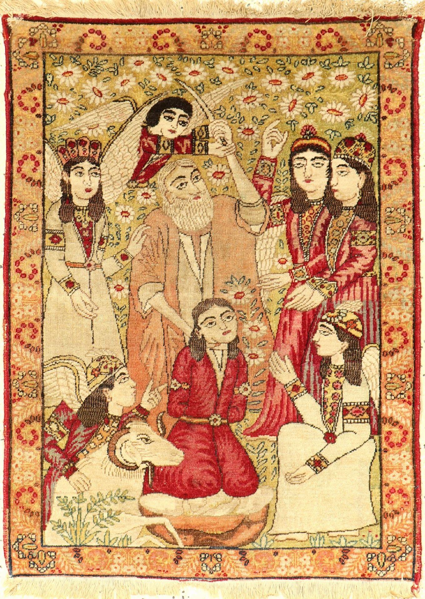 Kerman antik, Persien, um 1890, Wolle auf Baumwolle, ca. 86 x 64 cm, EHZ: 4Kerman antik, Persia,