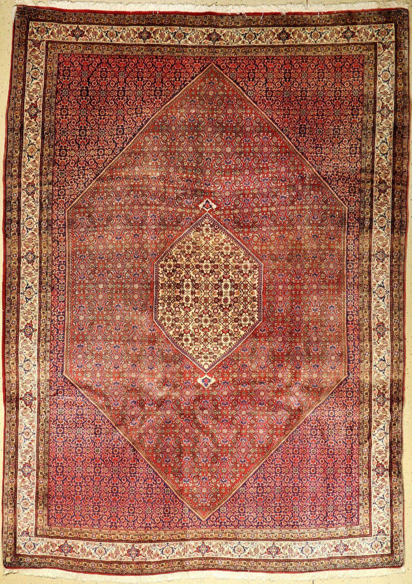 Bidjar, Persien, ca. 40 Jahre, Korkwolle, ca. 350 x 250 cm, EHZ: 2Bidjar, Persia, approx. 40
