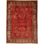 Meymeh alt, Persien, ca. 60 Jahre, Wolle auf Baumwolle, ca. 314 x 231 cm, EHZ: 4Meymeh old,