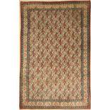 Ghom Kork alt, Persien, ca. 60 Jahre, Korkwolle, ca. 328 x 223 cm, EHZ: 2-3Qom old, Persia,