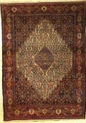 Feiner Senneh alt, Persien, um 1930, Wolle auf Baumwolle, ca. 190 x 135 cm, EHZ: 3Fine Senneh old