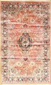China Seide, ca. 40 Jahre, reine Naturseide, ca. 145 x 93 cm, EHZ: 2China silk, approx. 40 years,