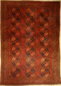 Ersari antik, Turkmenistan, um 1910, Wolle auf Wolle, ca. 330 x 232 cm, EHZ: 4Antique Ersari,