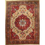 Täbriz alt, Persien, um 1930, Wolle auf Baumwolle, ca. 345 x 267 cm, EHZ: 4Tabriz old, Persia,