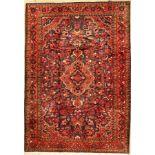 Nanaj, Persien, ca. 50 Jahre, Wolle auf Baumwolle, ca. 302 x 215 cm, EHZ: 2(verblasst)Nanaj, Persia,