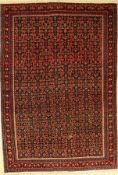 Feiner Senneh alt, Persien, um 1930, Wolle auf Baumwolle, ca. 200 x 138 cm, EHZ: 3Fine Senneh old