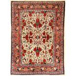 Rosen Bidjar, Persien, ca. 40 Jahre, Wolle auf Baumwolle, ca. 148 x 106 cm, EHZ: 2Bidjar, Persia,