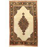 Seiden Ghom alt, Persien, ca. 40 Jahre, reine Naturseide, ca. 170 x 107 cm, EHZ: 2-3Silk Qom old,