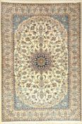 Nain, Persien, ca. 40 Jahre, Korkwolle mit Seide, ca. 235 x 158 cm, EHZ: 2Nain Rug, Persia,