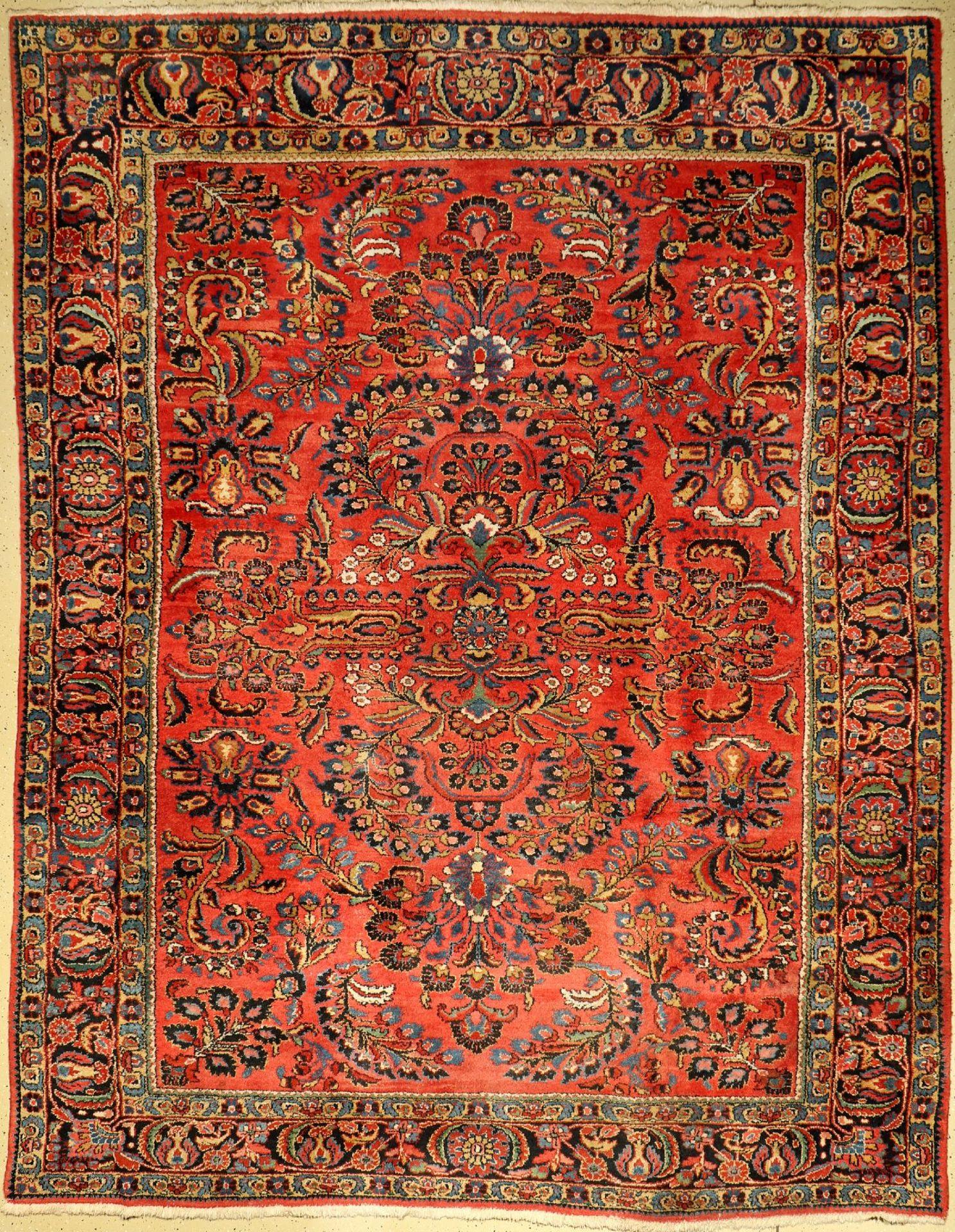 Mehraban, Persien, um 1940, Wolle auf Baumwolle, ca. 353 x 276 cm, EHZ: 2-3Mehraban, Persia,