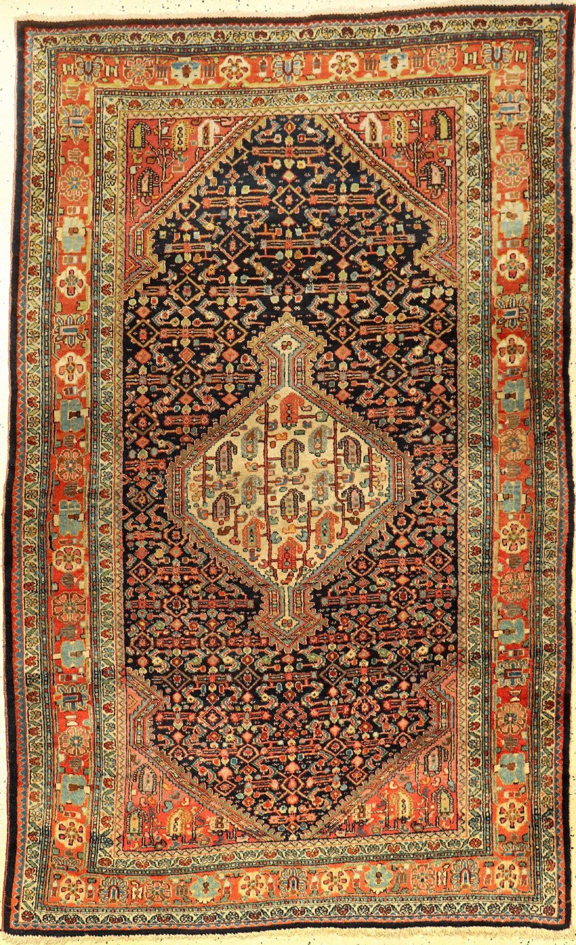 Djosan alt, Persien, um 1940, Wolle auf Baumwolle, ca. 203 x 126 cm, EHZ: 2-3Djosan old, Persia,