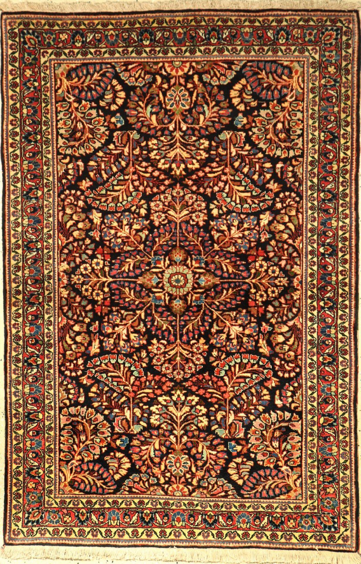 Djosan alt, Persien, ca. 60 Jahre, Korkwolle, ca. 149 x 99 cm, EHZ: 2Djosan old, Persia, approx.