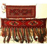 (2 Lots) 1x Ersari Jollar 1x Yomud Torba alt/antik, Turkmenistan/Afghanistan, um 1890/1930, Wolle