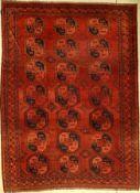 Ersari antik, Turkmenistan, um 1910, Wolle auf Wolle, ca. 332 x 236 cm, EHZ: 4Antique Ersari,