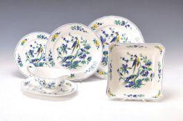 Speiseservice, Villeroy & Boch, Modell Phönix blau Malva, 8 Teller 27cm, 8 Teller 23.5cm, 8 Teller
