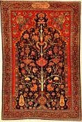 Feiner Farahan antik (Auftragsarbeit für Mirza Mohammad-Hossein Khan, einer der Stellvertreter von