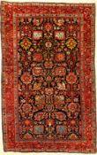 Feiner Bidjar antik, Nordwestpersien, um 1910, Korkwolle geknüpft auf Baumwolle. Sehr hochwertig