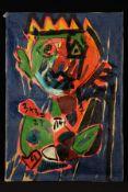Peter Robert Keil, 2010, Berlin, ohne Titel, ca. 180x125 cm, signiert u. datiert, Öl/Acryl