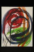 Peter Robert Keil, Berlin, ohne Titel, ca. 100x80 cm, signiert, Öl/Acryl Mischtechnik auf