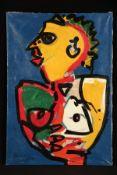Peter Robert Keil, 2011, Berlin, ohne Titel, ca. 180x120 cm, signiert u. datiert, Öl/Acryl