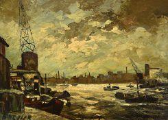 Borsick, deutscher Maler des 20. Jh., Ansicht des