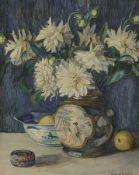 Eugenie Custodis, 1920er Jahre, Aquarell, Stillleben mit