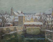 Karl Mulfinger, 1882 Schwäbisch Hall-1956 Ebingen, Blick