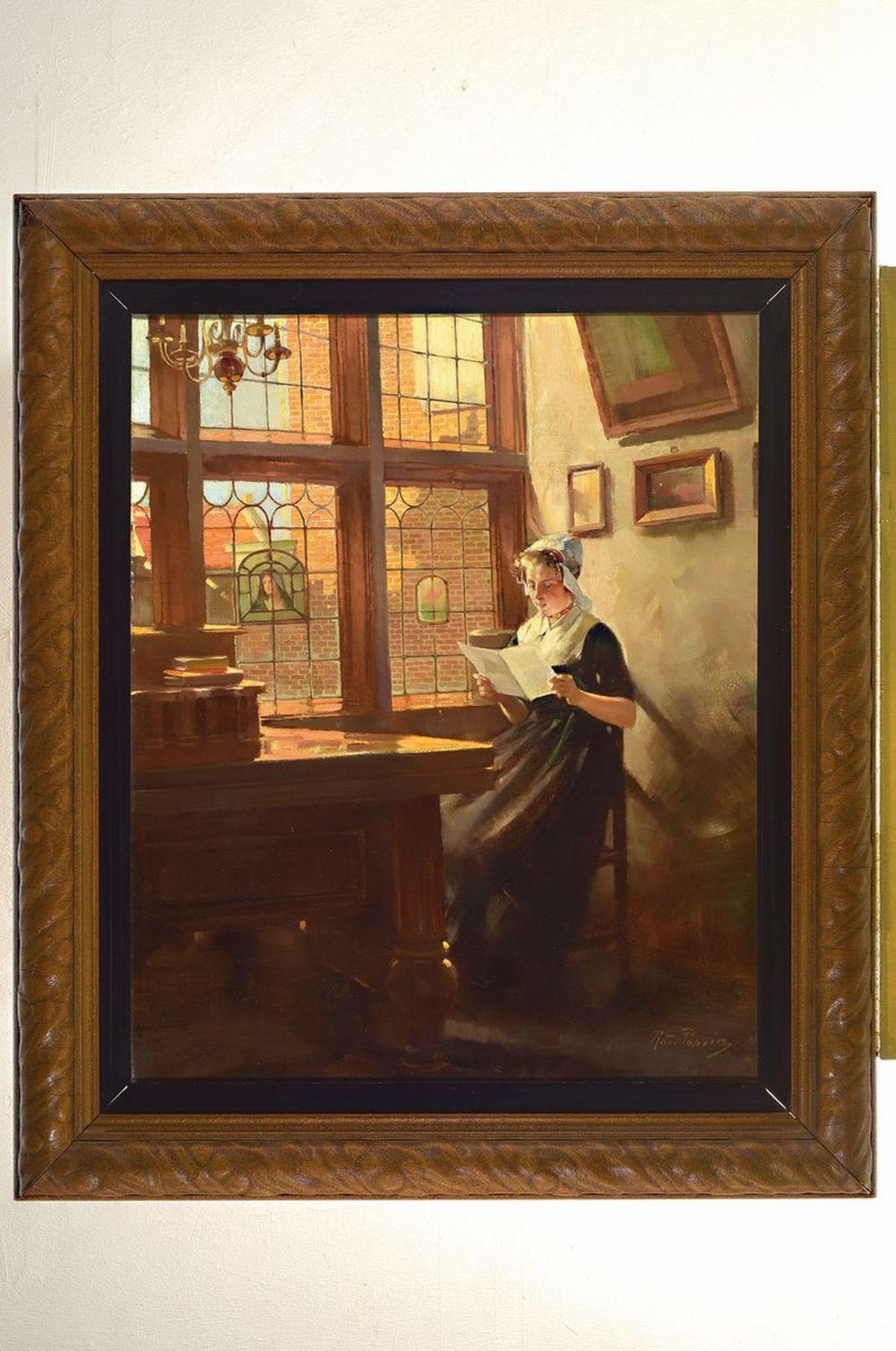 Rudolf Possin, 1861 Magdeburg-1922 Berlin, Holländisches - Bild 3 aus 3