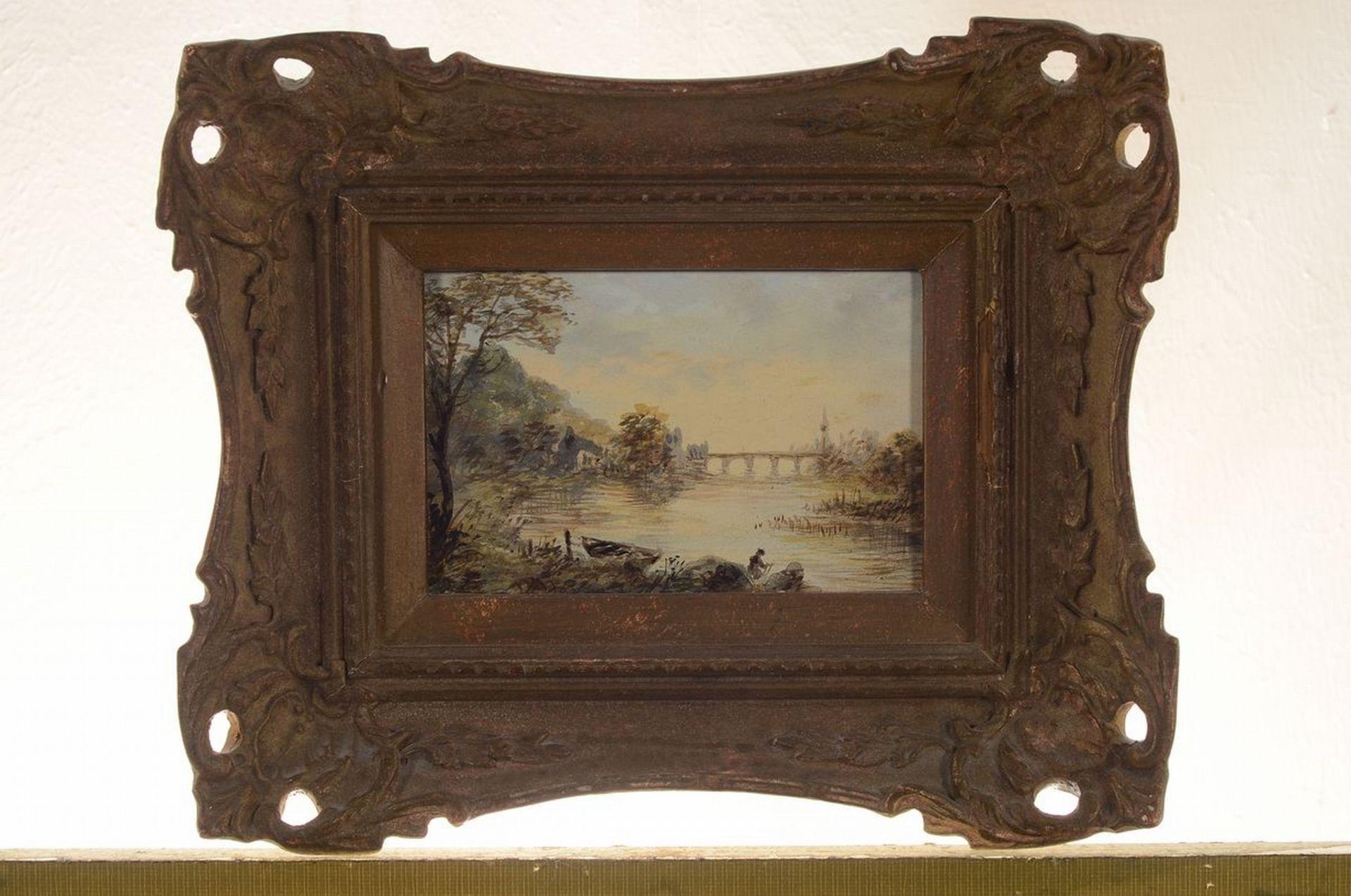 Unbekannter Künstler, Niederlande, um 1900, 2 Pendants: - Bild 3 aus 4