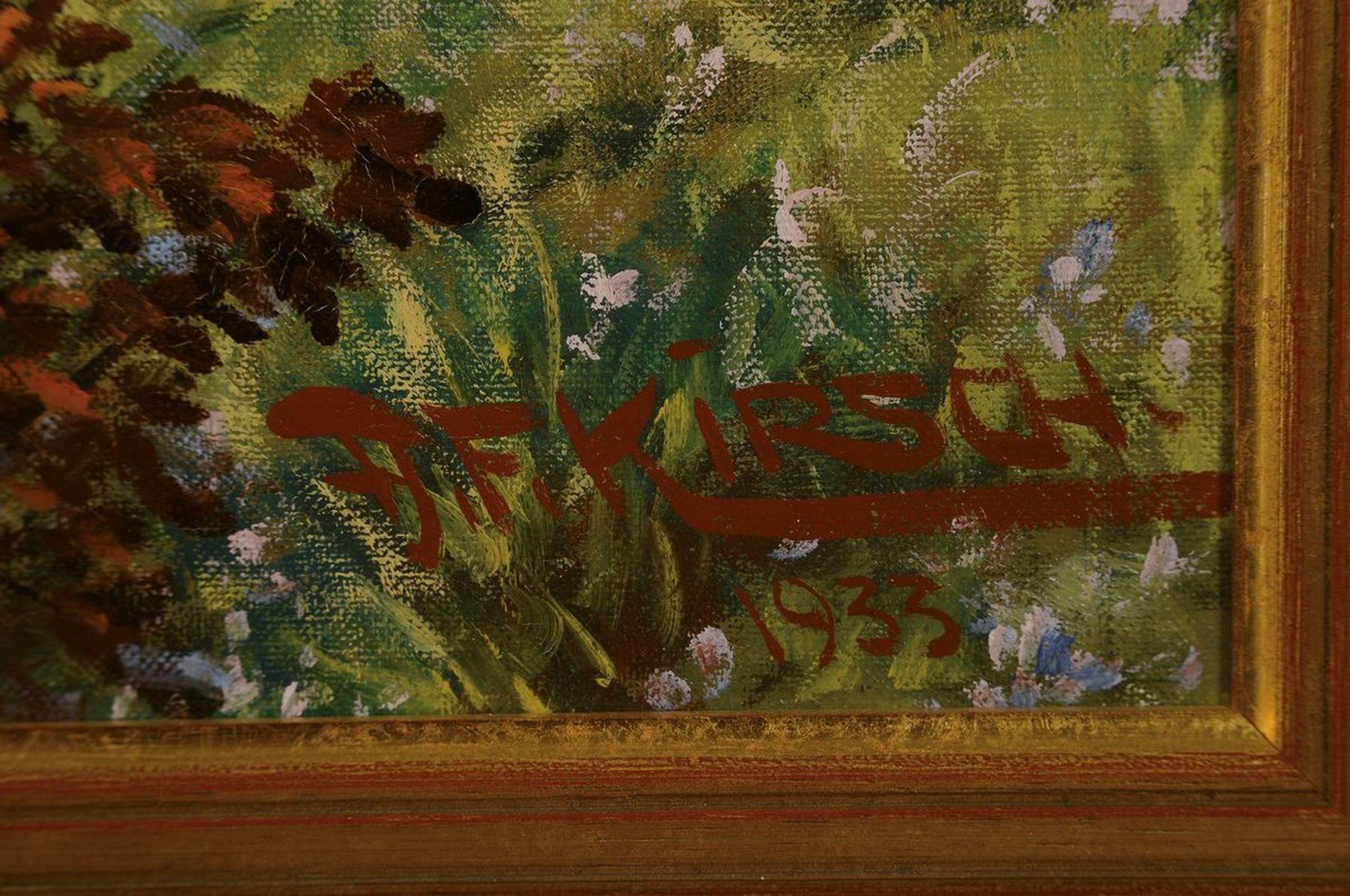 August Friedrich Kirsch, Maler aus Edenkoben, 1. Hälfte - Bild 2 aus 3