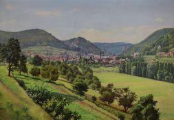 August Wilde, 1881 Ludwigshafen-1950 Bad Dürkheim, Blick