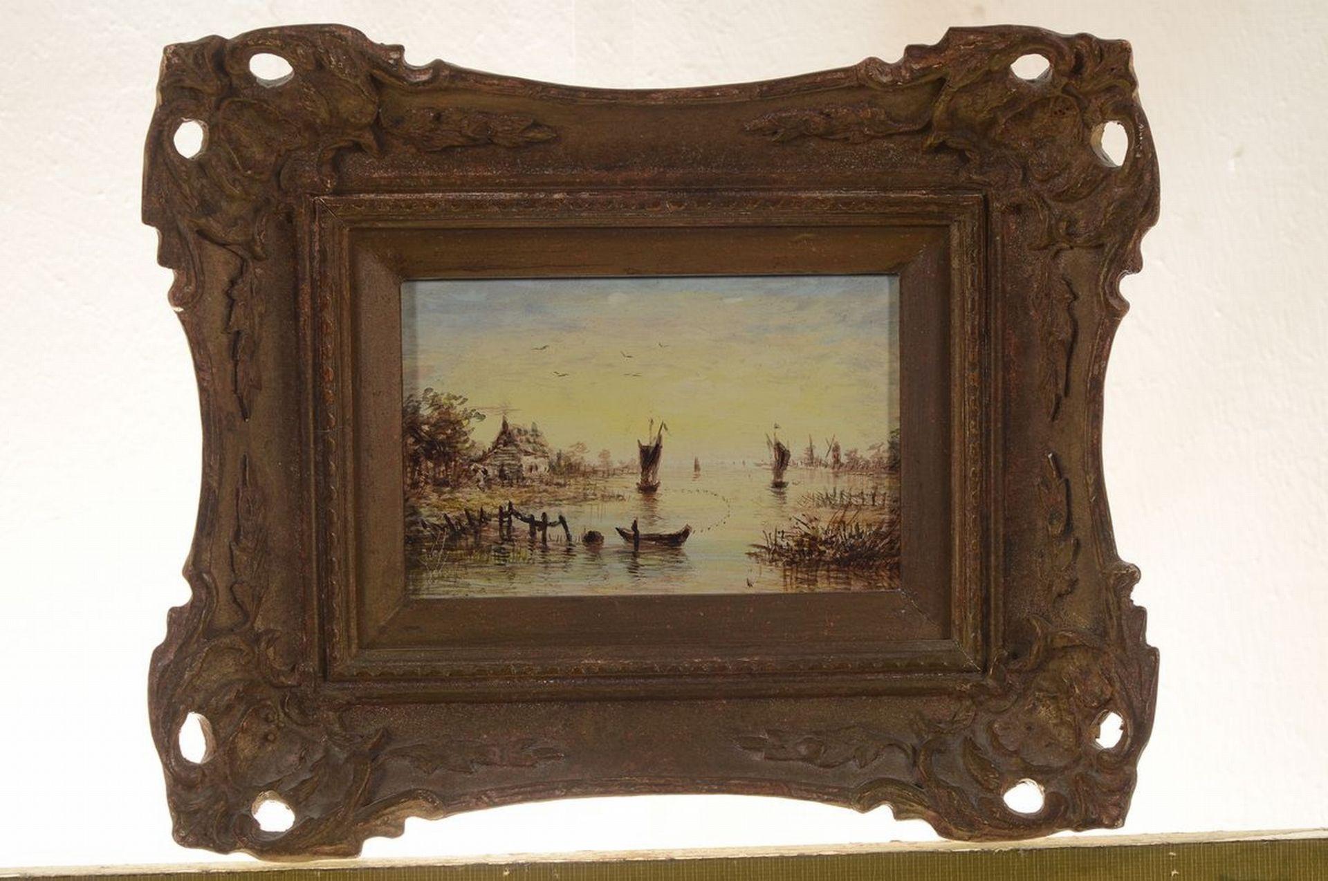 Unbekannter Künstler, Niederlande, um 1900, 2 Pendants: - Bild 2 aus 4